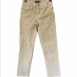Polo Ralph Lauren tan corduroy pants